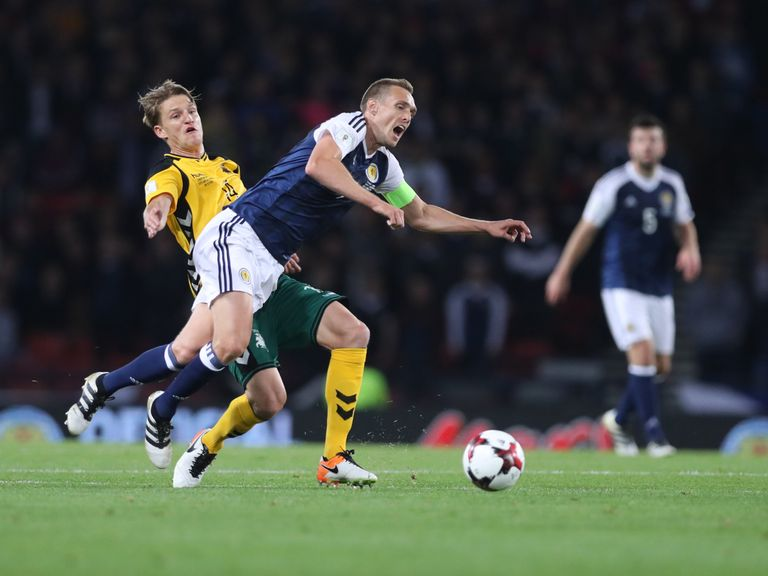 Gordon Strachan faces selection headache ahead of Lithuania qualifier