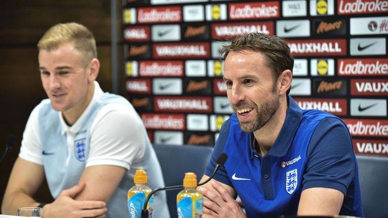 Southgate takes over from the sacked Sam Allardyce