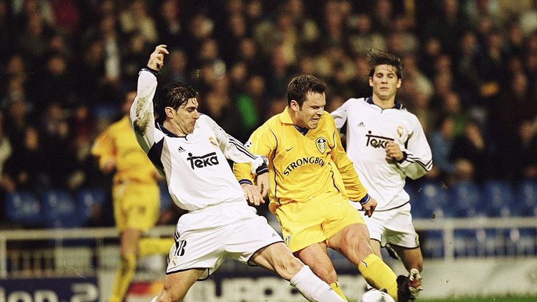 Leeds reached the Champions League semi-final in 2001