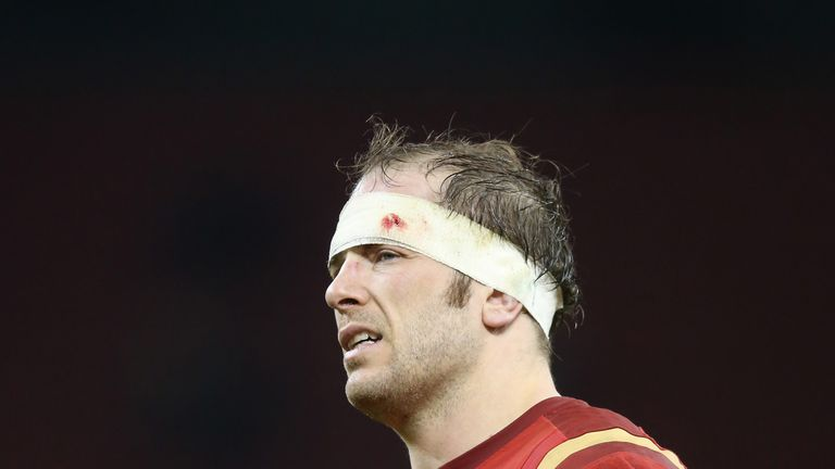 Alun Wyn Jones has succeeded Sam Warburton as Wales captain