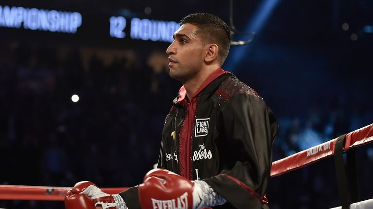 Amir Khan and Kell Brook have been unable to agree a fight so far