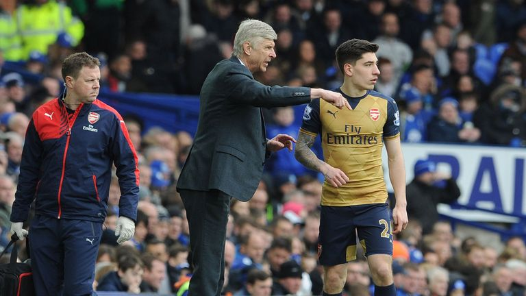 Arsene Wenger says Bellerin has a number of years left on his contract