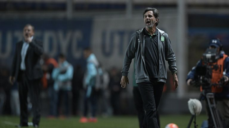 Chapecoense coach Caio Junior has previously managed in Japan and the Middle East
