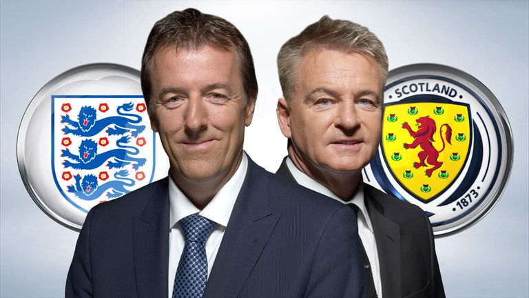 Matt Le Tissier and Charlie Nicholas rate their nations' best XIs