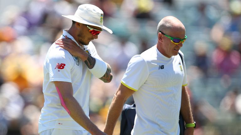 Dale Steyn's shoulder problems flared up on his return to action for South Africa against Australia last November