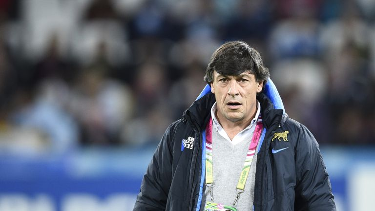 Argentina head coach Daniel Hourcade's side have yet to earn a point in the Rugby Championship