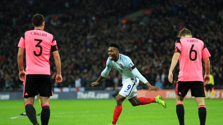Scotland lost 3-0 to England at Wembley