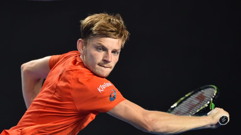 David Goffin beat Grigor Dimitrov to reach the last four