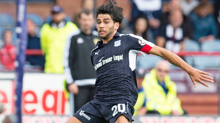 Dundee striker Faissal El Bakhtaoui has recovered from injury