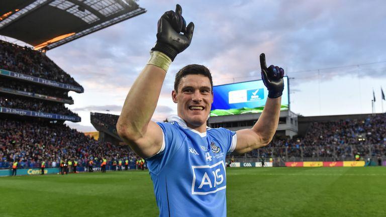 Dublin forward Diarmuid Connolly wins his second All-Star