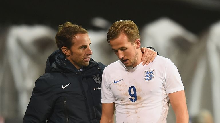 Harry Kane has worked with Gareth Southgate with England U21s