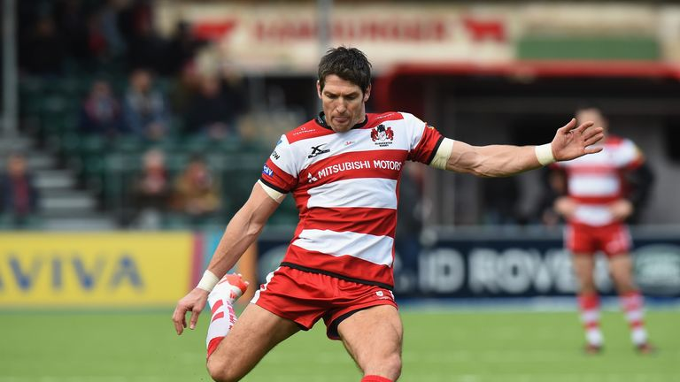 James Hook has been with Gloucester since 2014