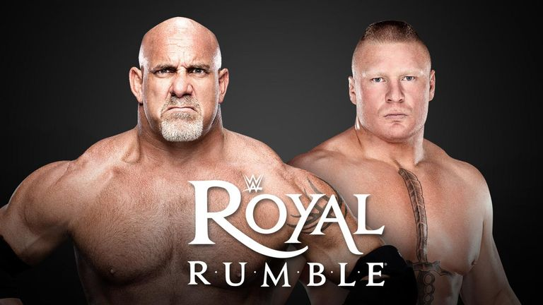 Brock Lesnar will join Goldberg in the 2017 Royal Rumble Match