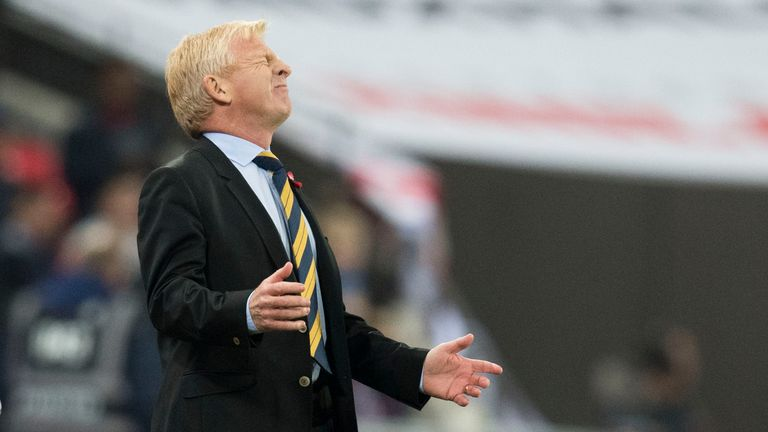 Gordon Strachan's Scotland are struggling in their attempt to reach next year's finals in Russia