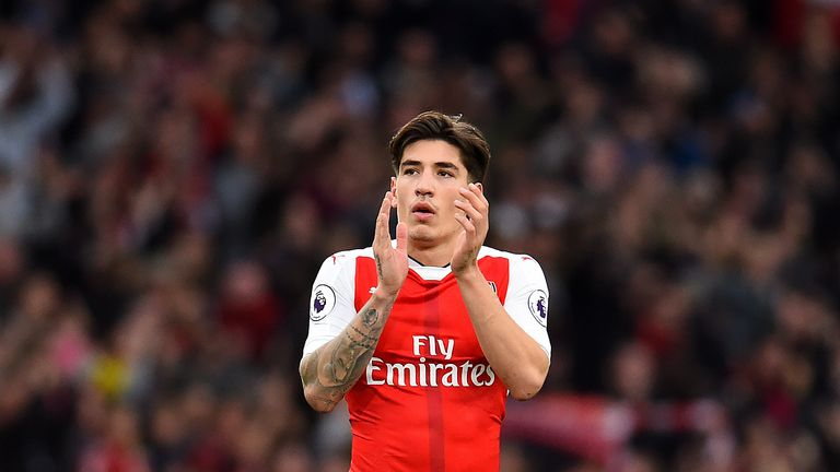 Hector Bellerin signed a new long-term Arsenal deal this month