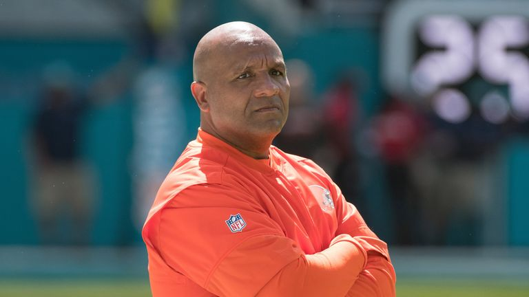 Browns head coach Hue Jackson was in an odd mood pre-game against the Bengals