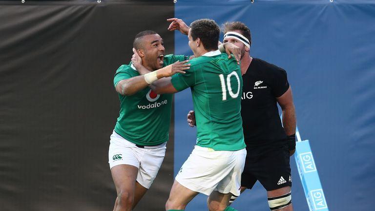 Ireland ended New Zealand's 18-game winning streak in November