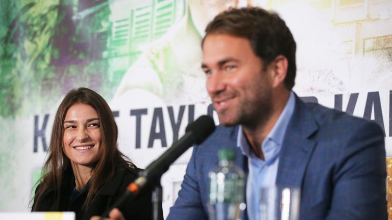Eddie Hearn is building a stacked undercard on December 13