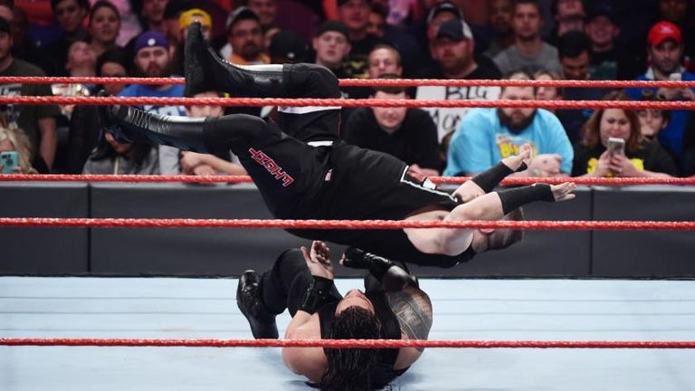 Did Kevin Owens' running senton make our list of Raw's top moves?