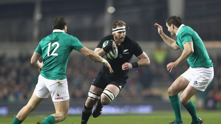 Kieran Read and the All Blacks pose a formidable challenge for the All Blacks