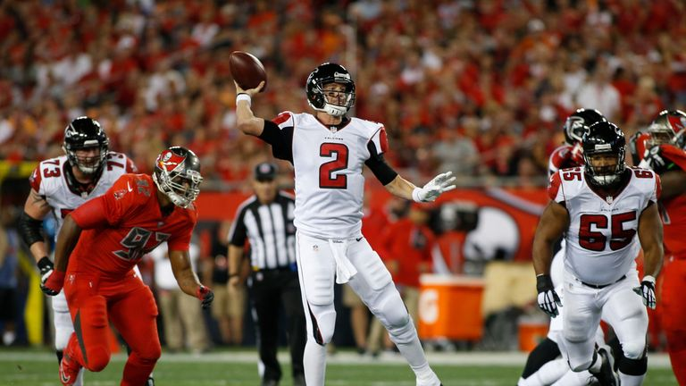 Matt Ryan was an early MVP candidate and has continued to excel