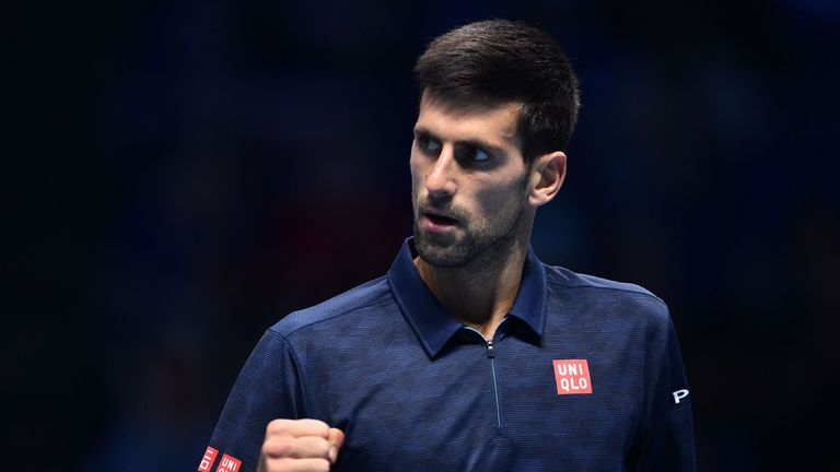 Novak Djokovic beats Dominic Thiem in London