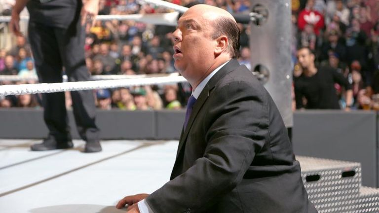 Paul Heyman was stunned by Lesnar's quick-fire defeat to Goldberg