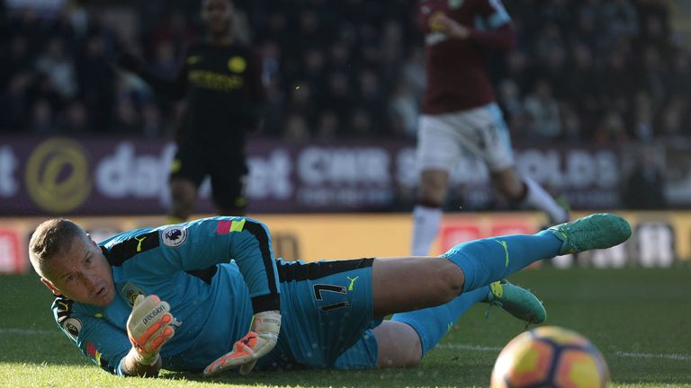 Sean Dyche was impressed by Paul Robinson's top-flight comeback