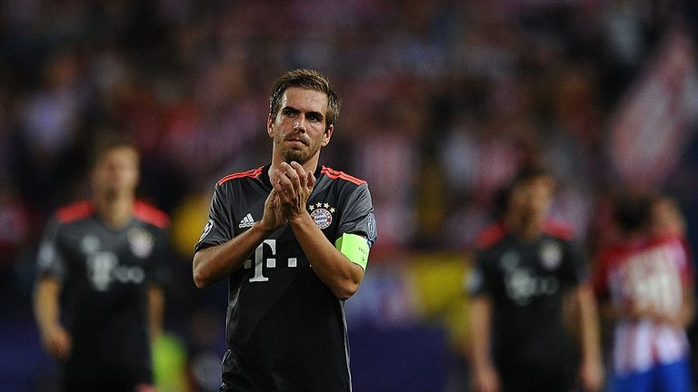 Philipp Lahm makes the team