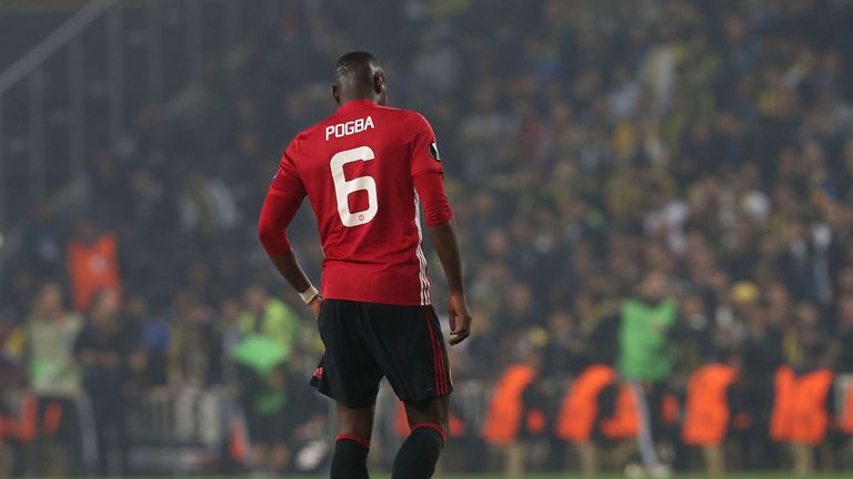 World-record signing Paul Pogba has been underwhelming so far