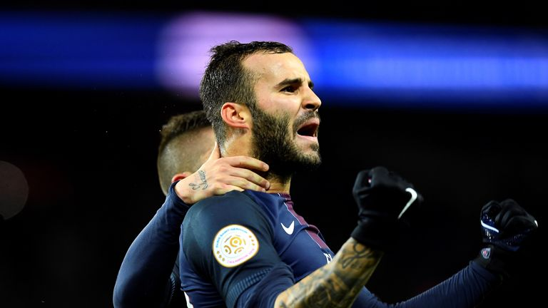 Jese Rodriguez looks set to leave PSG