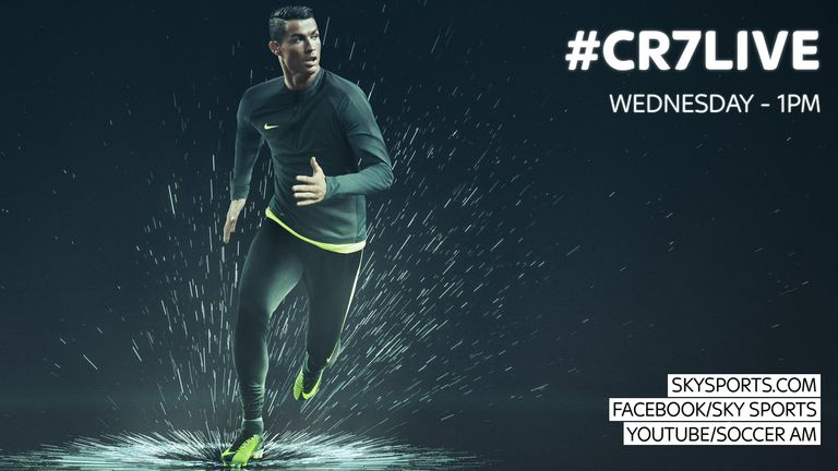Cristiano Ronaldo -- Signs Massive New Deal with Nike ... CHA-CHING!!!