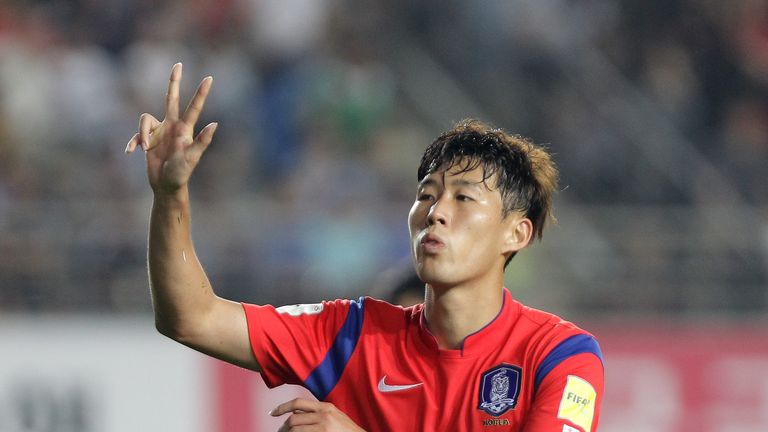 Heung-Min Son's South Korea are vying for an automatic qualification spot