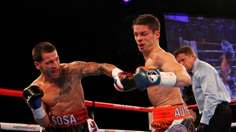 Jason Sosa retains his WBA super-featherweight world title with victory over Liverpool's Stephen Smith