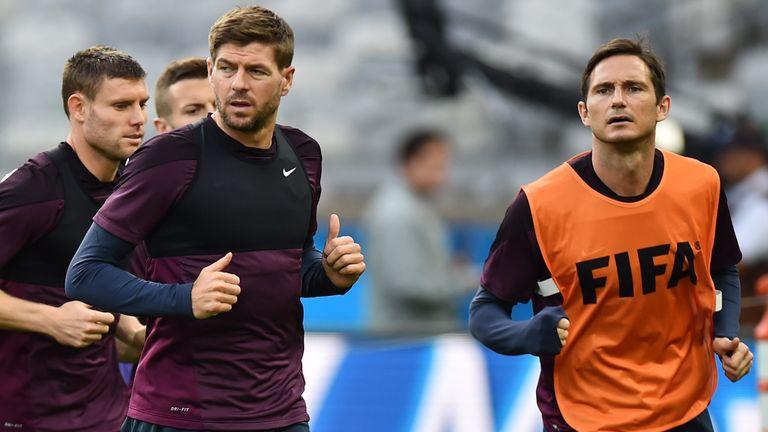 فرانک لمپارد و استیون جرارد - Gerrard n Lampard