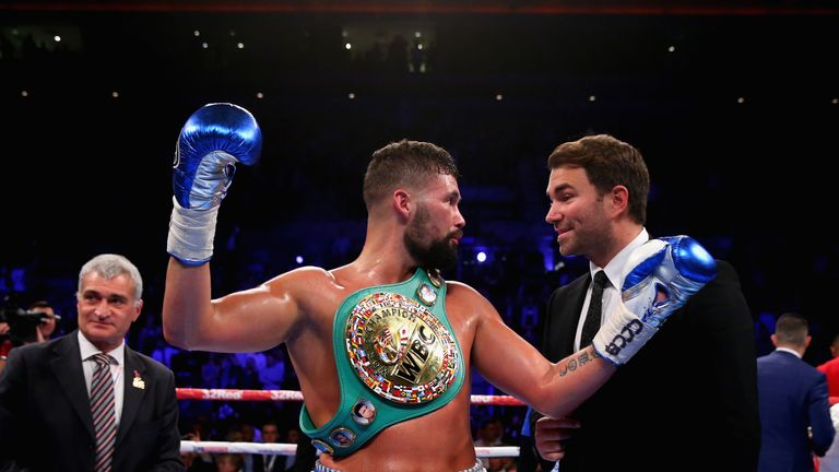 Bellew held talks with Eddie Hearn before reaching an agreement with WBC