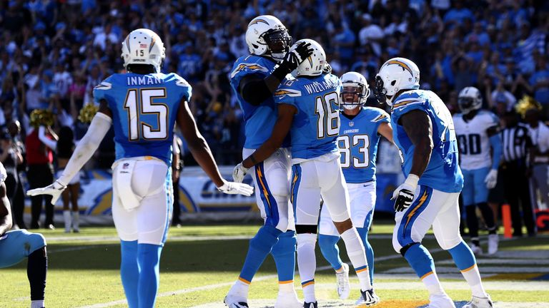 'Bell cow' Gordon surging in second season with Chargers