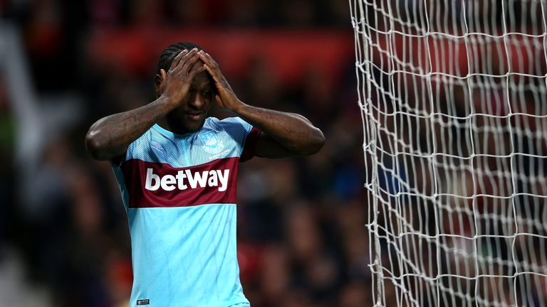 Moses lost his place in West Ham's team last season