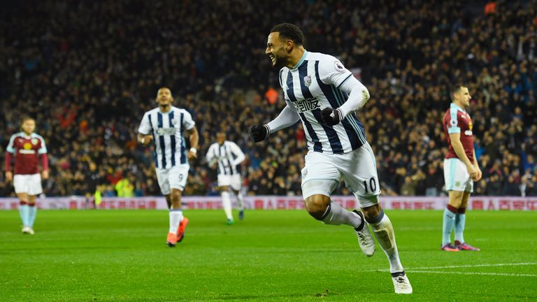 Matt Phillips will remain sidelined for the Baggies with a hamstring injury