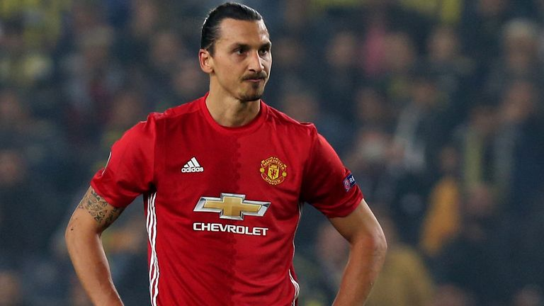 Zlatan Ibrahimovic has now gone seven games without a goal