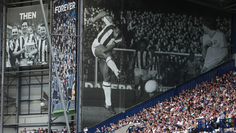West Brom has a rich history but attendances are falling year after year
