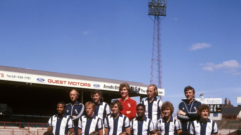 West Brom finished third in the 1978/79 season under Ron Atkinson