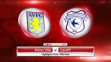 Aston Villa 3-1 Cardiff