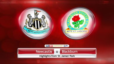 Newcastle 0-1 Blackburn