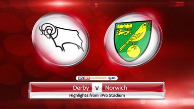 Derby 1-0 Norwich