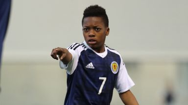 Karamoko Dembele is back in the Scotland U16 squad for a tournament later this month