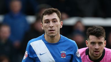 Nathan Thomas has been in fine form for Hartlepool this season