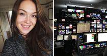 Garner rides into Sky studios