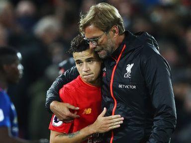 Philippe Coutinho has heaped praise on Liverpool manager Jurgen Klopp