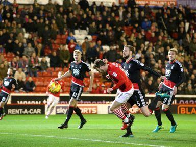 Sam Winnall: Two late goals for Barnsley